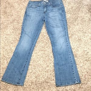 Levi's 515 Bootcut a light Wash Size 8